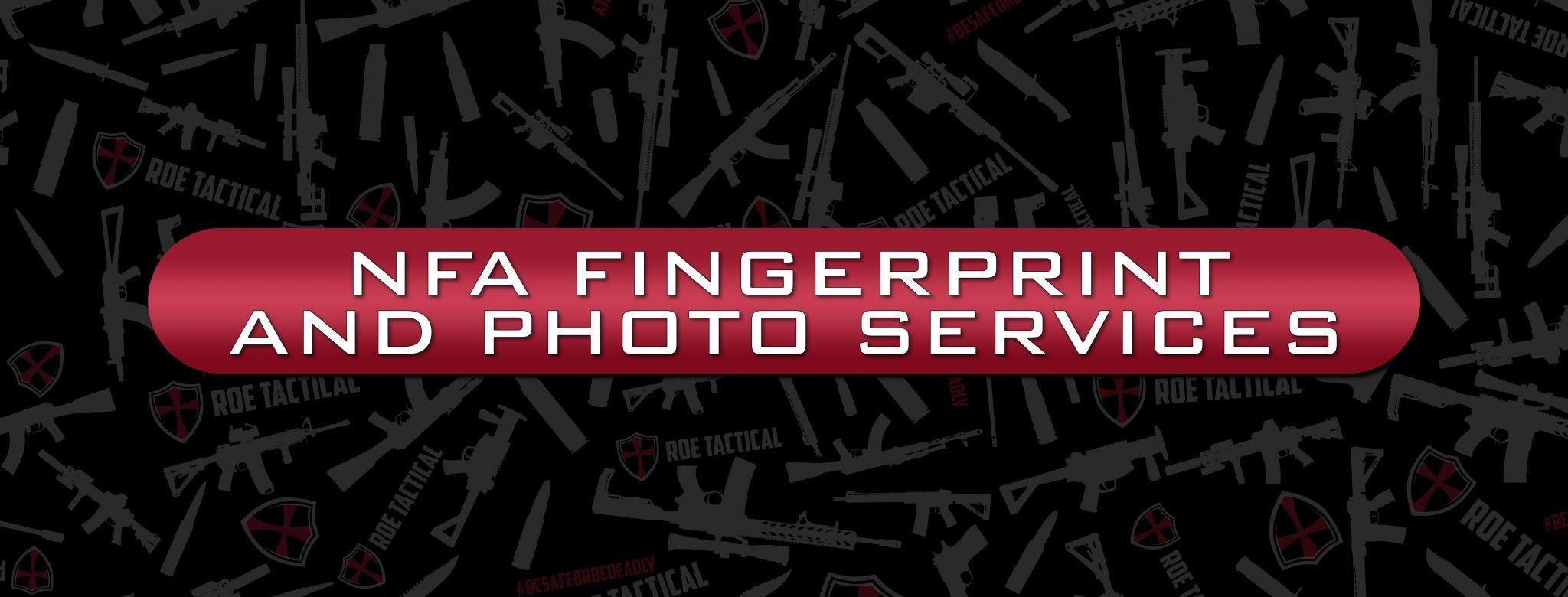 NFA Fingerprints and Photo Services